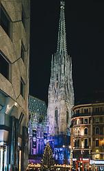 THEMENBILD - Weihnachtsbeleuchtung in der Adventzeit in der Innenstadt von Wien, aufgenommen am 17. November 2018 in Wien, Österreich // Christmas decoration in the inner city of Vienna, pictured on 2018/11/17 in Vienna, Austria. EXPA Pictures © 2018, PhotoCredit: EXPA/ Florian Schroetter