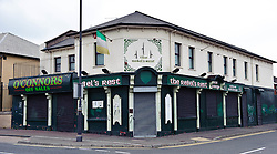 Rebel's Rest pub in the Falls Road, Belfast<br /> <br /> (c) Andrew Wilson | Edinburgh Elite media