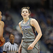HARTFORD, CONNECTICUT- JANUARY 4: Katie Lou Samuelson #33 of the Connecticut Huskies in action during the UConn Huskies Vs East Carolina Pirates, NCAA Women's Basketball game on January 4th, 2017 at the XL Center, Hartford, Connecticut. (Photo by Tim Clayton/Corbis via Getty Images)