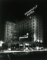 1937 Roosevelt Hotel at Hollywood Blvd. & Orange Dr.