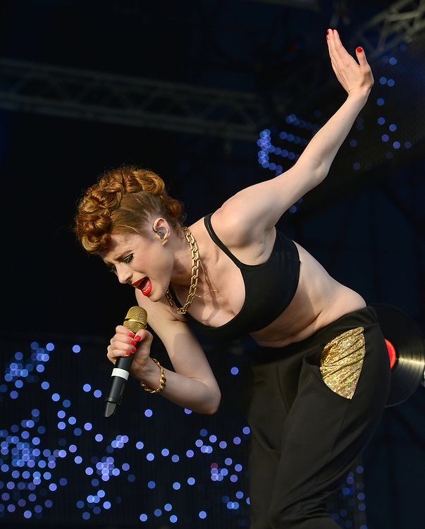 Isle Of MTV Valetta Malta 25th June   , Dance Artist Kiesza <br /> Pix Dave nelson
