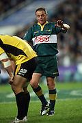 Referee Chris Pollock. NSW Waratahs v Hurricanes. 2010 Super 14 Rugby Union round 14 match played at the Sydney Football Stadium, Moore Park Australia. Friday 14 May 2010. Photo: Clay Cross/PHOTOSPORT