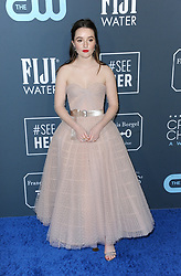 Kaitlyn Dever at the 25th Annual Critics' Choice Awards held at the Barker Hangar in Santa Monica, USA on January 12, 2020.