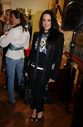 Singer MEL C formerly of the Spicegirls at a party to celebrate the opening of the new fashion store Jezebell at 59 Blandford Street, London W1 on 20th April 2006.<br />