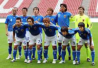 Fotball<br /> Japan<br /> Foto: Witters/Digitalsport<br /> NORWAY ONLY<br /> <br /> 09.09.2009<br /> <br /> Team hinten v.l. Marcus Tulio Tanaka, Makoto Hasebe, Ryoichi Maeda, Shunsuke Nakamura, Yuji Nakazawa, Ryota Tsuzuki, vorne v.l. Yuto Nagatomo, Yasuhito Endo, Yuichi Komano, Shinji Okazaki, Kengo Nakamura<br /> Lagbilde Japan