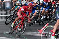 during the last stage or La Vuelta of Spain in Madrid. September 10, 2016. (ALTERPHOTOS/Rodrigo Jimenez)