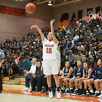 Gallup's Justine Tso (12) takes a jump shot Saturday, Dec. 7 at the John Lomasney 45th annual Gallup Girls Invitational Basketball Tournament championship game in Gallup.