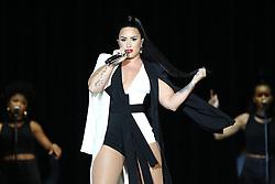 June 24, 2018 - Lisbon, Portugal - US singer Demi Lovato performs at the Rock in Rio Lisboa 2018 music festival in Lisbon, Portugal, on June 24, 2018. (Credit Image: © Pedro Fiuza via ZUMA Wire)