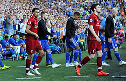 Trent Alexander-Arnold of Liverpool walks out on to the pitch prior to kick-off - Mandatory by-line: Nizaam Jones/JMP - 21/04/2019 -  FOOTBALL - Cardiff City Stadium - Cardiff, Wales -  Cardiff City v Liverpool - Premier League
