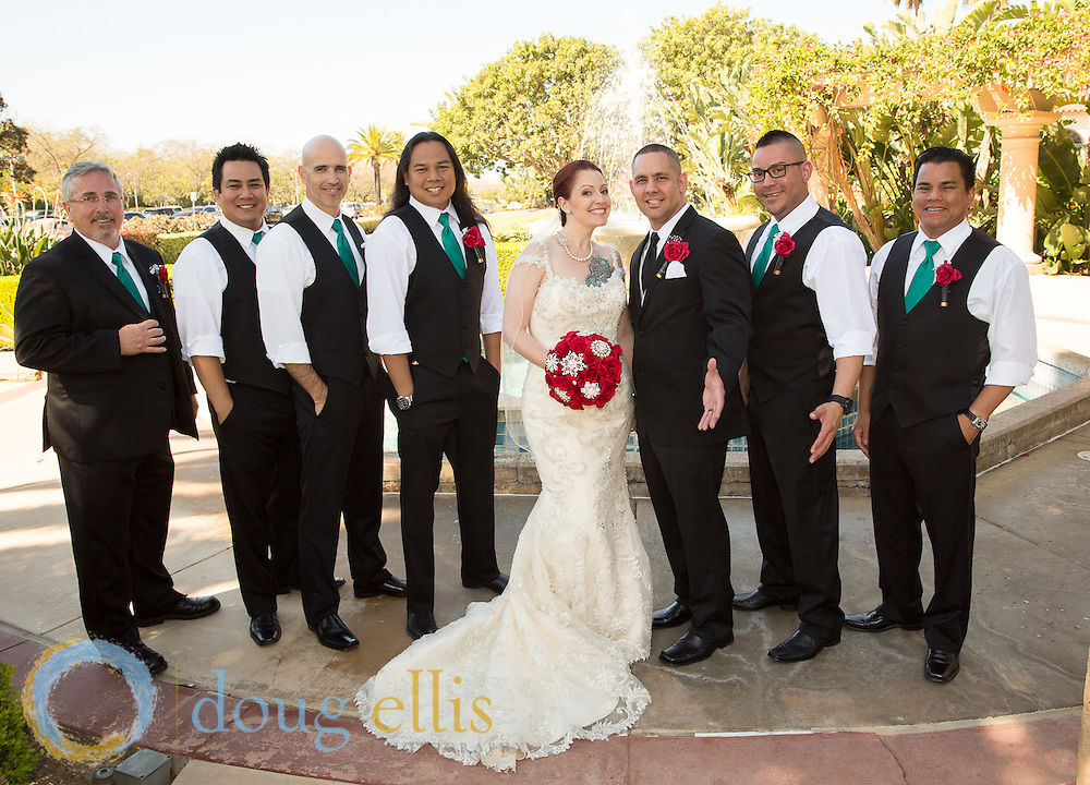 Spanish Hills wedding photos for Jim and Brittney.