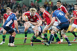 © Licensed to London News Pictures. 25/6/2013. Richie Gray during the British & irish Lions tour match between Melbourne Rebels Vs British & Irish Lions at AAMI Park, Melbourne, Australia. Photo credit : Asanka Brendon Ratnayake/LNP