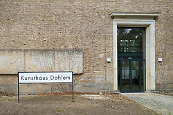 Kunsthaus Dahlem museum, an exhibition venue for postwar German modernism in Dahlem, Berlin , Germany