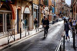 Street scene in the Carmes district of old Toulouse, France<br /> <br /> (c) Andrew Wilson   Edinburgh Elite media