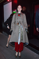 Anna Cleveland arriving at Dior Addict Stellar Shine diner and party at Roxie restaurant during Ready To Wear A/W 2019-2020 as part of Paris Fashion Week on February 26, 2019 in Paris, France. Photo by Nasser Berzane/ABACAPRESS.COM
