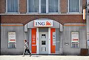 Belgie, Huy, 13-4-2013Kantoor, buitenlandse vestiging van de ING bank.Foto: Flip Franssen/Hollandse Hoogte