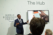 Van Jones, Co-Founder<br /> Hello Tractor at the World Economic Forum on Africa 2017 in Durban, South Africa. Copyright by World Economic Forum / Greg Beadle