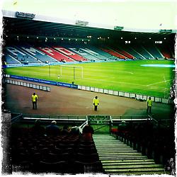 Hampden Stadium..Hipstamatic images taken on an Apple iPhone..©Michael Schofield.