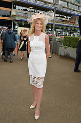SALLY BERCOW at day one of the Royal Ascot 2016 Racing Festival at Ascot Racecourse, Berkshire on 14th June 2016.