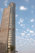 Israel, Ramat Gan Aviv highrise building