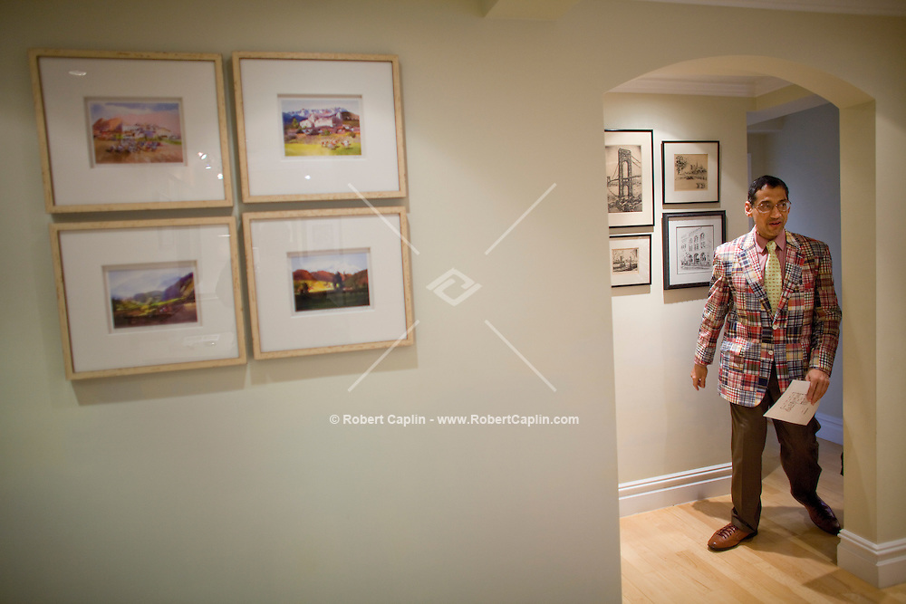 Ann Cutbill Lenane of Prudential gives a tour of an open house at 11 Riverside Drive. The Sunday afternoon open house circuit is a tradition in New York real estate. For agents, open houses are a source of new clients, even if few sales are actually made at them. For prospective buyers, it's a way to scope out the market -- and for neighbors, it's a chance to snoop without guilt. What's the future of the open house in a time when buyers can learn everything they need to know on the Web?..Photo by Robert Caplin