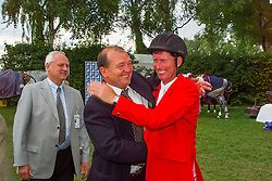 Somers Lucien, Lansink Jos, Mathijssen Jean Jacques, BEL<br /> CHIO Aachen 2001<br /> © Hippo Foto - Dirk Caremans<br /> 15/06/2001