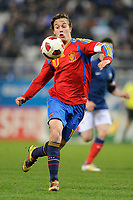 FOOTBALL - UNDER 21 - FRIENDLY GAME - FRANCE v SPAIN - 24/03/2011 - PHOTO GUILLAUME RAMON / DPPI -<br /> SERGIO CANALES (ESP)