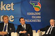 DESCRIZIONE : Milano Italia Basket Hall of Fame<br /> GIOCATORE : Pianigiani Meneghin Peterson<br /> SQUADRA : FIP Federazione Italiana Pallacanestro <br /> EVENTO : Italia Basket Hall of Fame<br /> GARA : <br /> DATA : 07/05/2012<br /> CATEGORIA : Premiazione<br /> SPORT : Pallacanestro <br /> AUTORE : Agenzia Ciamillo-Castoria/GiulioCiamillo