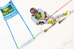 March 9, 2019 - Kranjska Gora, Kranjska Gora, Slovenia - Andrea Ballerin of Italy in action during Audi FIS Ski World Cup Vitranc on March 8, 2019 in Kranjska Gora, Slovenia. (Credit Image: © Rok Rakun/Pacific Press via ZUMA Wire)