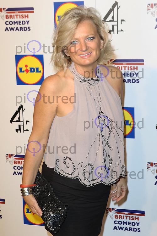 Alice Beer, British Comedy Awards, Fountain Studios, London UK, 16 December 2014, Photo by Richard Goldschmidt