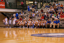 25 June 2011: 1A 2A North at the 2011 IBCA (Illinois Basketball Coaches Association) boys all star games.