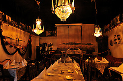 The Restaurant Astols Rokeri on the tiny island of Astols. Photo: Chris Davies/WMRT