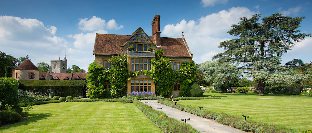 Le Manoir Aux Quat' Saisons luxury hotel founded by Raymond Blanc at Great Milton in Oxfordshire, UK