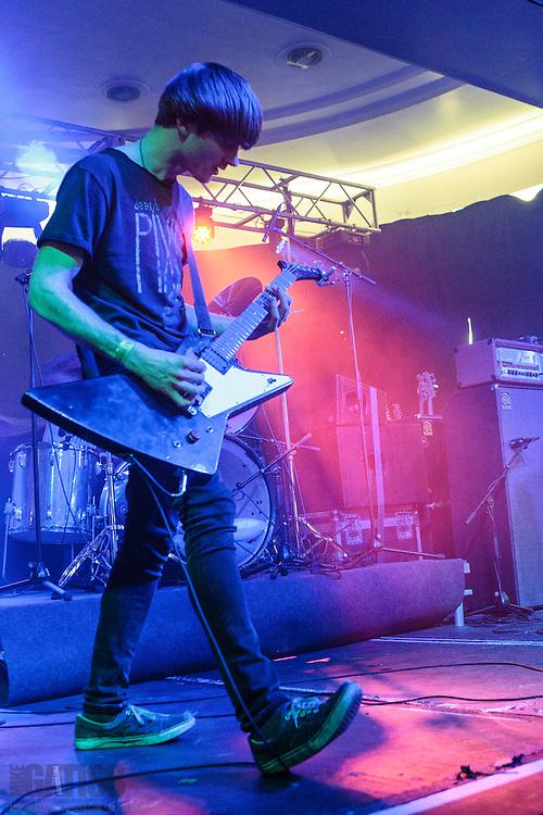 Dinosaur Pile Up performing at Live At Leeds, 2013-05-04