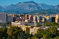 Albanie, Tirana, vue generale // Albania, Tirana, cityscape