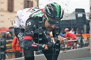 Fabio Aru during the UCI World Tour, Tirreno-Adriatico 2018, Stage 5, Castelraimondo to Filottrano, in Italy, on March 11, 2018 - Photo Laurent Lairys / ProSportsImages / DPPI