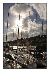 The final day of the Bell Lawrie Scottish Series, breezy and bright conditions from the North allowed the sailors to compete on a level par...Views around Tarbert Harbour.