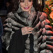 Joan Collins arrives at Tramp Members Club 40 Jermyn Street, on 23 May 2019, London, UK.