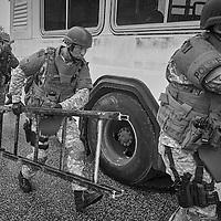 EDINA, MN MAY 7: 2015 South West Metro SWAT Consortium SWAT Basic School on May 7, 2015 in Edina, Minnesota. (Photo by: Adam Bettcher)