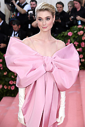 "Elizabeth Debicki at the 2019 Costume Institute Benefit Gala celebrating the opening of ""Camp: Notes on Fashion"".<br />