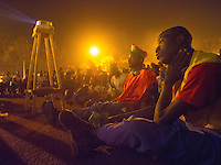 ouagadougou, Burkino Faso.<br /> Fans dejected after BF lose to Nigeria in the Africa Cup of Nations 2013