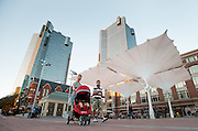 Sundance Square, downtown Fort Worth, Texas.