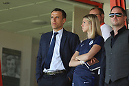 Phil Neville during the UEFA European Under 17 Championship 2018 match between England and Italy at the Banks's Stadium, Walsall, England on 7 May 2018. Picture by Mick Haynes.