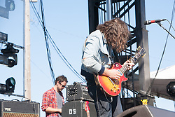 The War On Drugs performs at The Treasure Island Music Festival - 10/14/12