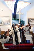 The Rev. Al Green preaches and sings praise at his Full Gospel Tabernacle church on a recent Sunday morning. Legendary soul singer Al Green is about to receive a major national honor. Green is among the five artists who will receive this year's Kennedy Center honors. The national award is for influencing American culture through the arts. His church is located at 787 Hale Rd. in Memphis, TN.