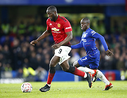 February 18, 2019 - London, United Kingdom - Manchester United's Romelu Lukaku.during FA Cup Fifth Round between Chelsea and Manchester United at Stanford Bridge stadium , London, England on 18 Feb 2019. (Credit Image: © Action Foto Sport/NurPhoto via ZUMA Press)