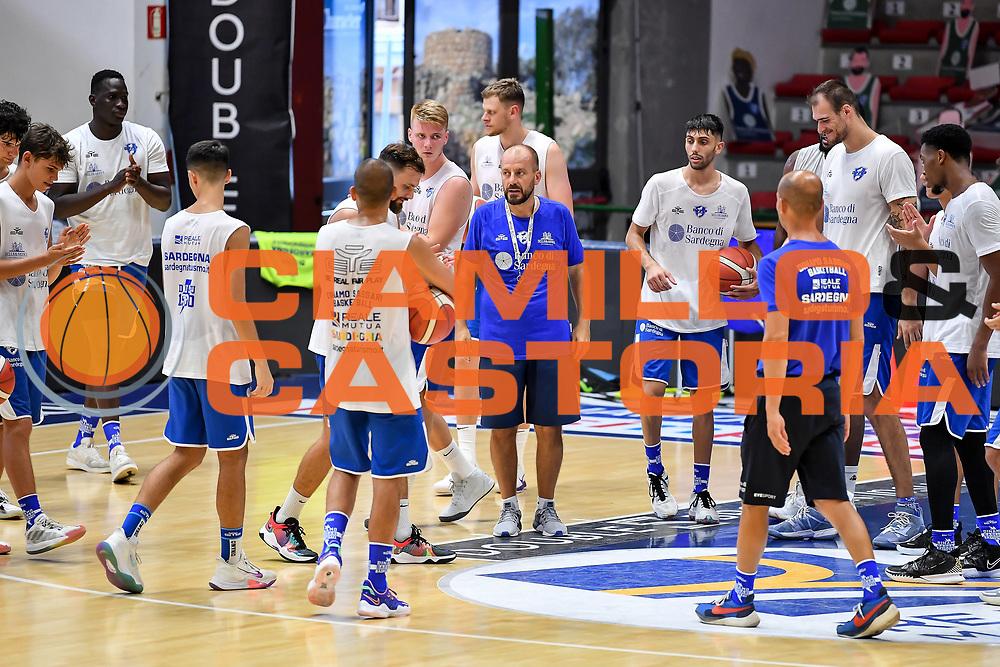 Demis Cavina<br /> Allenamento Banco di Sardegna Dinamo Sassari<br /> LBA Legabasket Serie A 2021-2022<br /> Sassari, 12/08/2021<br /> Foto L.Canu / Ciamillo-Castoria
