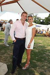 HOLLY BRANSON and FRED ANDREWS at the Cartier International Polo at Guards Polo Club, Windsor Great Park on 27th July 2008.<br /> <br /> NON EXCLUSIVE - WORLD RIGHTS