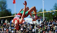 Friidrett<br /> 19. juni 2010<br /> Fana Stadion , Bergen , Norway<br /> European team championships<br /> High jump Men<br /> Artsiom Zaitsau , BLR<br /> Foto : Astrid M. Nordhaug