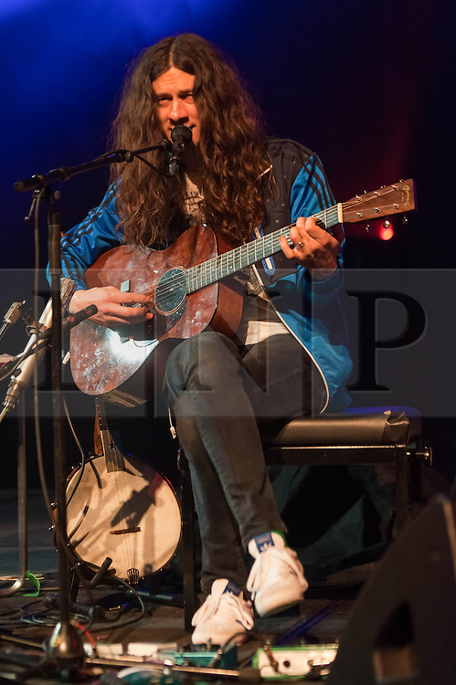 © Licensed to London News Pictures. 04/04/2014. Rotterdam, Netherlands.   Kurt Vile performing live at Motel Mozaique Festival.  Kurt Vile (is an American musician, singer, songwriter and producer.  Motel Mozaïque is an annual music/arts festival, held annually in Rotterdam, Netherlands.  Photo credit : Richard Isaac/LNP
