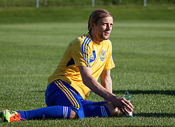 25.05.2012, Sportplatz, Walchsee, AUT, UEFA EURO 2012, Trainingscamp, Ukraine, Training, im Bild Anatoliy Tymoshchuk, (UKR) // Anatoliy Tymoshchuk, (UKR) during the first Trainingssession of Ukraine National Footballteam for preparation UEFA EURO 2012 at the Stadium, Walchsee, Austria on 2012/05/25. EXPA Pictures © 2012, PhotoCredit: EXPA/ Juergen Feichter